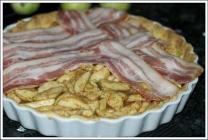 Eple og bacon pai 2