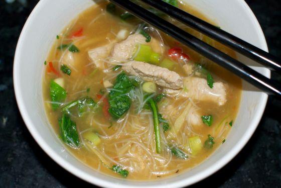 Vietnamesisk suppe 10