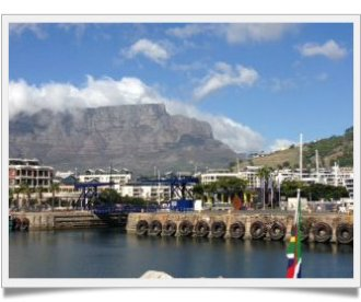 Table Mountain-framed